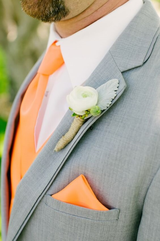 orange men tie for fall wedding colors for 2022 teal and orange