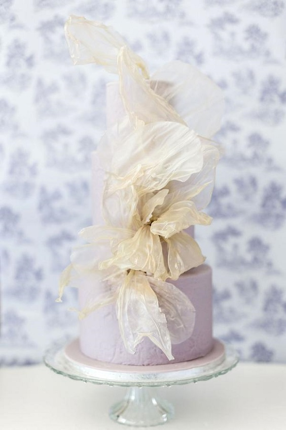 lilac wedding cake for spring wedding colors lilac lavender white colors