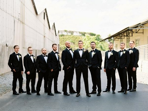 black men suits white shits for spring wedding colors 2022 black white pink colors