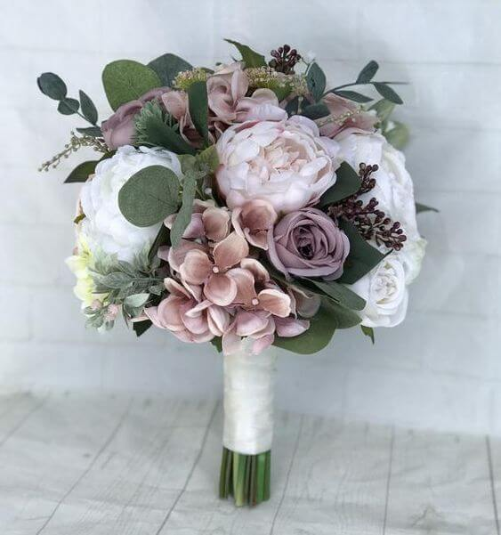 3cb9960ef7 Refined Dusty Rose and Navy Blue Wedding Color Ideas - ColorsBridesmaid