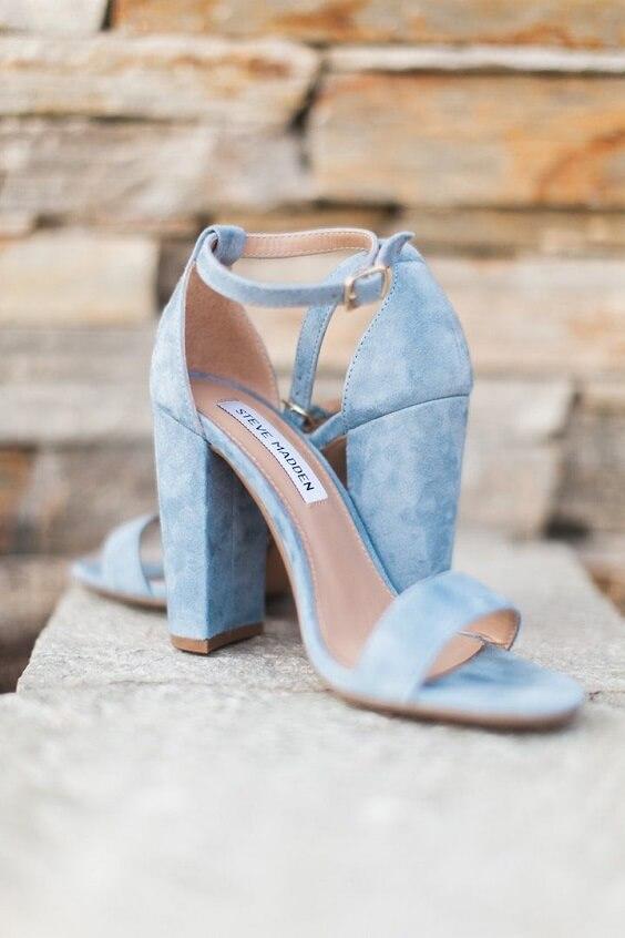 Blue Wedding-Light Blue Bridesmaid
