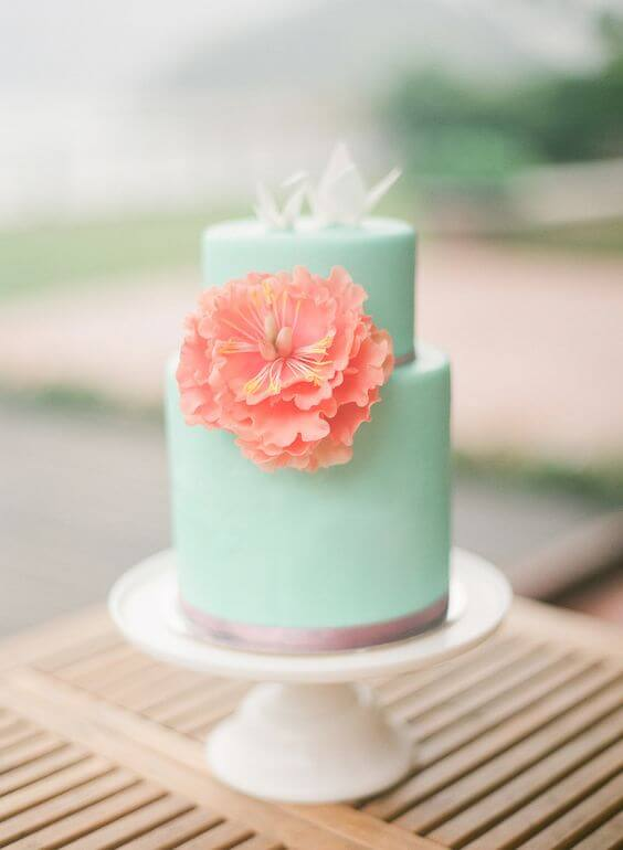 Lovely Mint And Peach Summer Wedding Color Inspirations Colorsbridesmaid