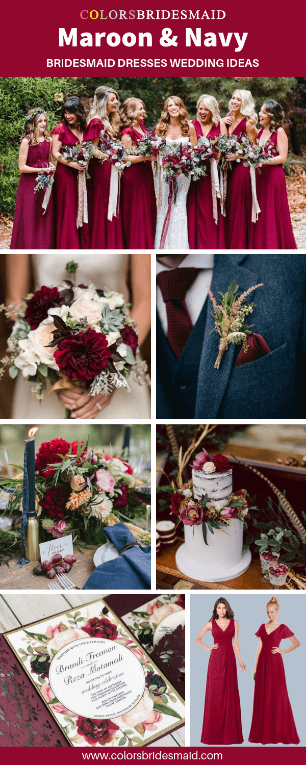 All 50+ Fall Wedding Color Palettes - ColorsBridesmaid