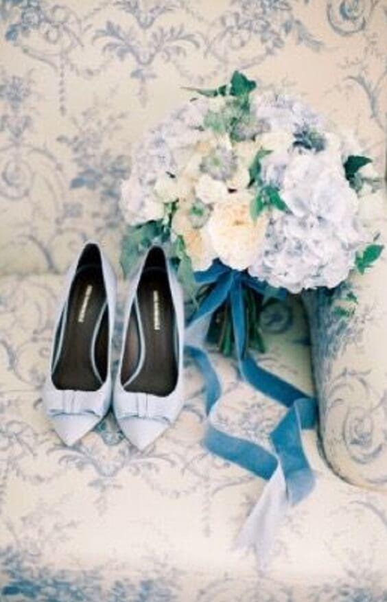 dusty blue wedding shoes for spring ice blue wedding