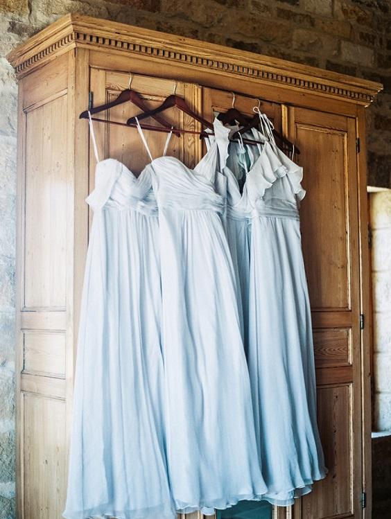 ice blue bridesmaid dresses for spring ice blue wedding 3
