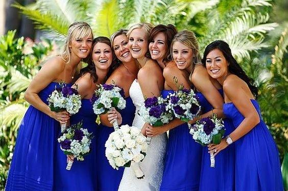 royal blue bridesmaid dresses for summer royal blue wedding
