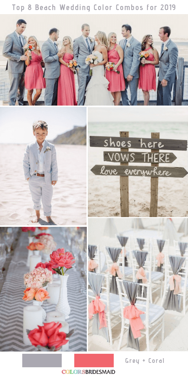 Top 9 Beach Wedding Color Combos Ideas For 2019 Colorsbridesmaid