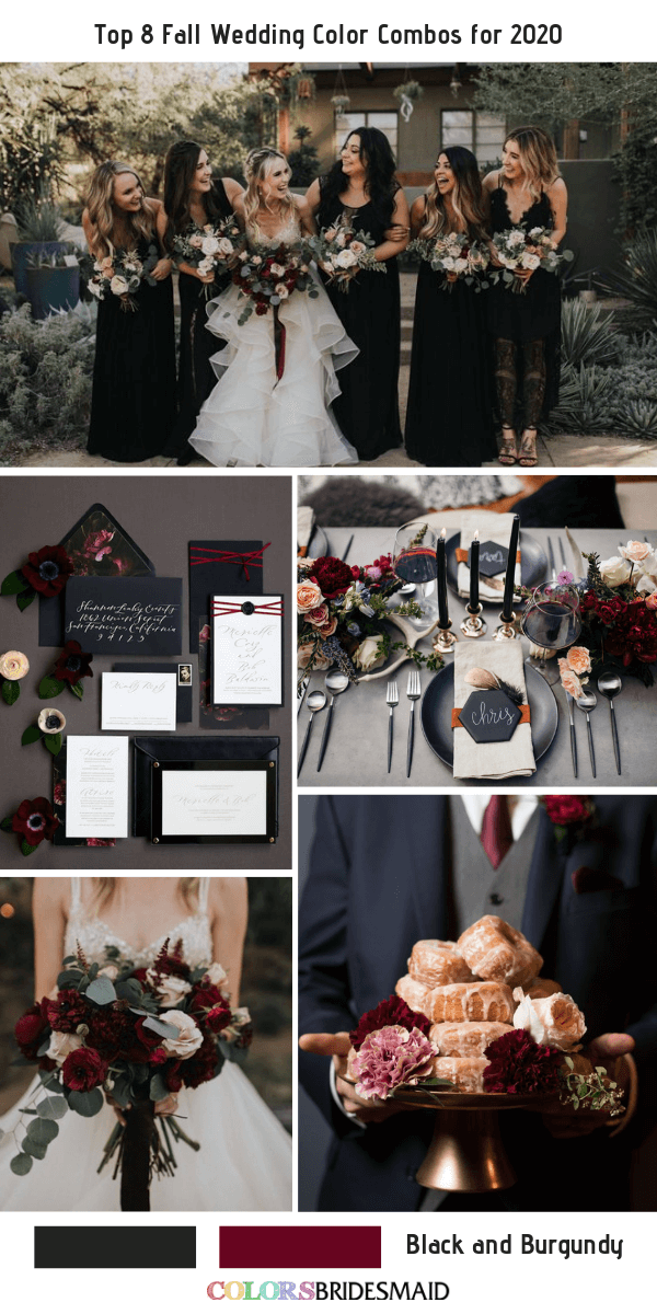Top 8 Fall Wedding Color Combos for 2020 - ColorsBridesmaid