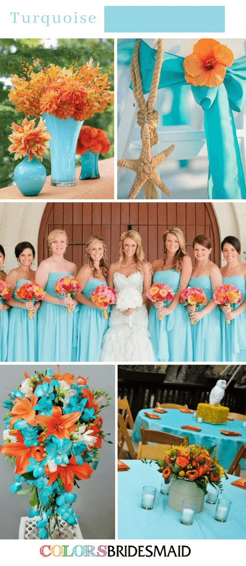 Fall Wedding Colors Palettes In Shades