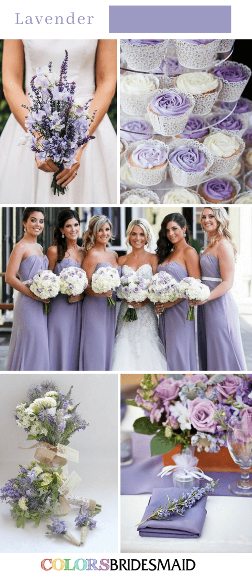 Fall Wedding Colors With Lavender