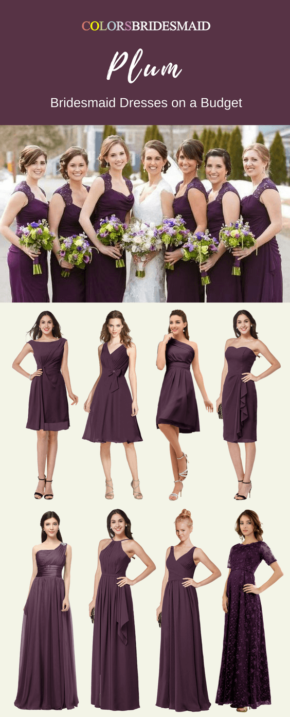 7474e5d0a95 Highly Welcomed Plum Bridesmaid Dresses Here for You - ColorsBridesmaid