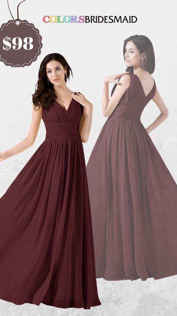 ColsBM Alana Burgundy Bridesmaid Dresses