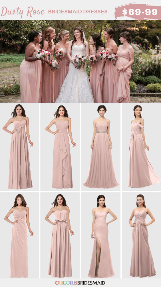 ColsBM dusty rose bridesmaid dresses