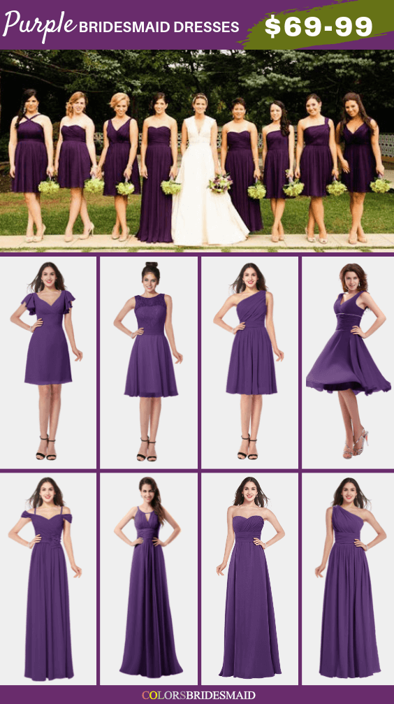 ColsBM Purple bridesmaid dresses