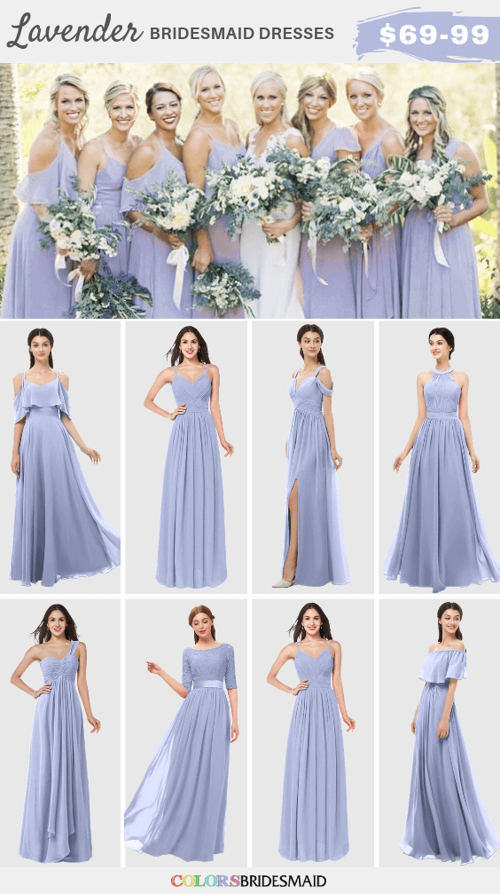 Summer Wedding Lavender Bridesmaid Dresses Grey Men S Suits And Centerpieces Colorsbridesmaid,Nordstrom Wedding Guest Dresses
