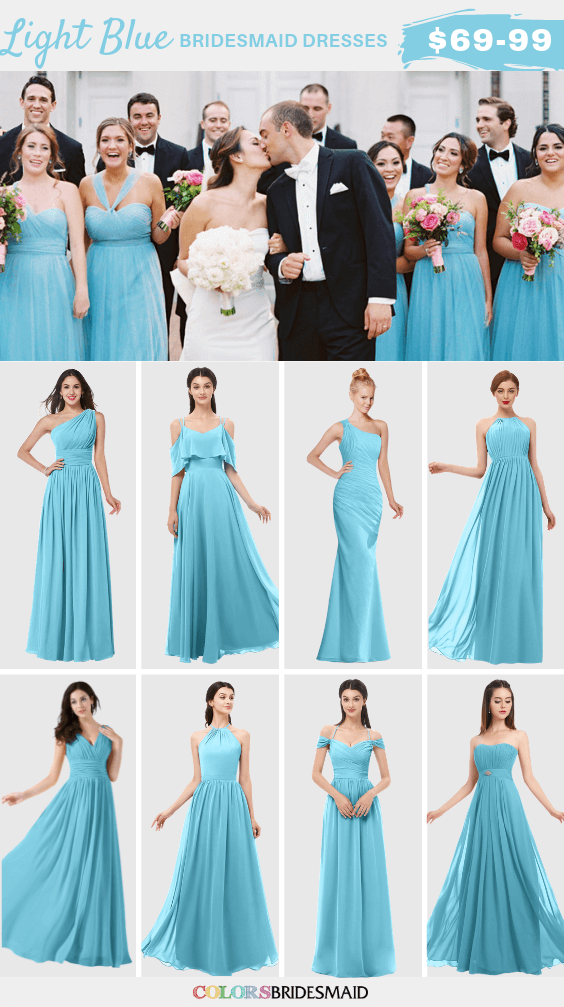 ColsBM light blue bridesmaid dresses