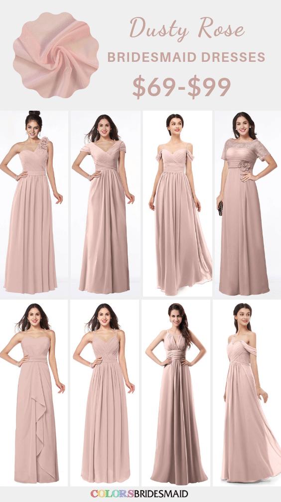ColsBM Dusty Rose bridesmaid dresses