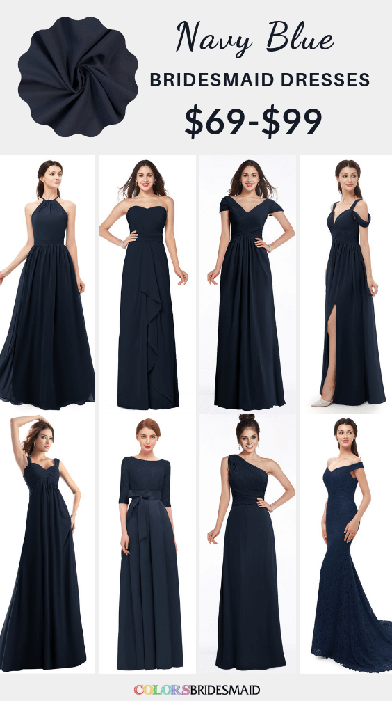 ColsBM navy blue bridesmaid dresses