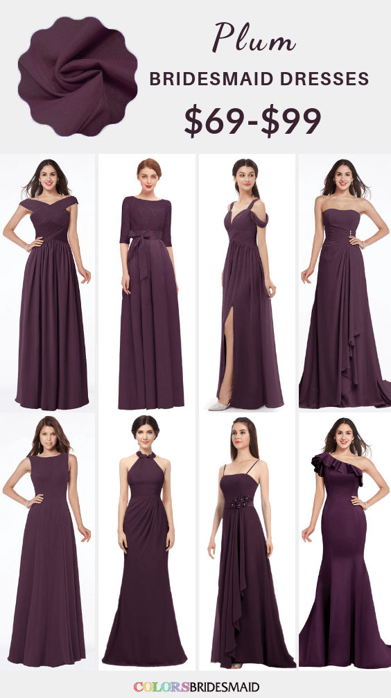 ColsBM plum purple bridesmaid dresses
