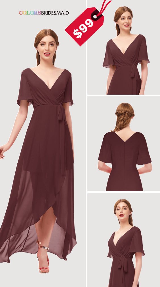 ColsBM Taegan Burgundy Bridesmaid Dresses