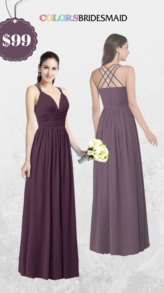 ColsBM Veronica Plum Pruple Bridesmaid Dresses
