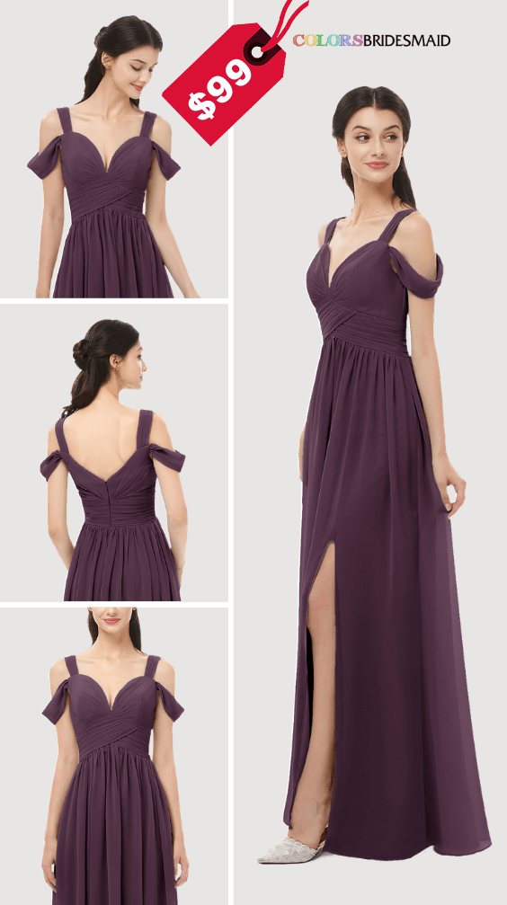 ColsBM Raven Plum Pruple Bridesmaid Dresses