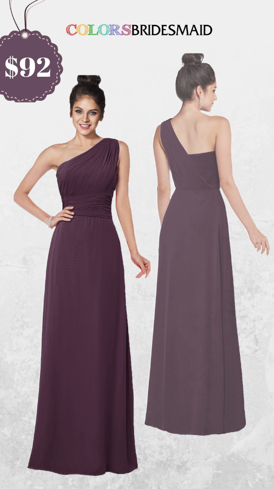 ColsBM Adalyn Plum Pruple Bridesmaid Dresses