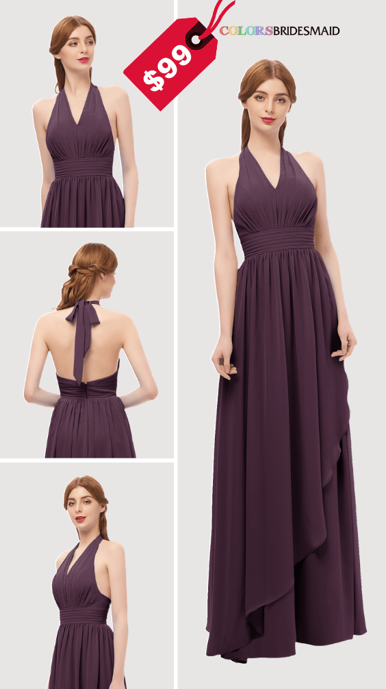 ColsBM Olive Plum Pruple Bridesmaid Dresses