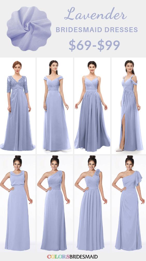 ColsBM lavender bridesmaid dresses