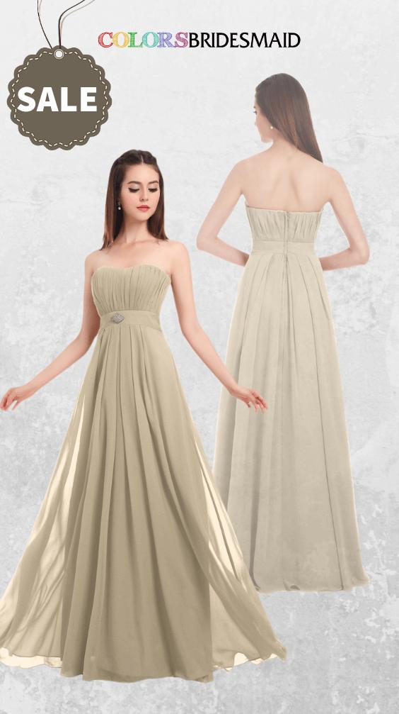 ColsBM Claire Champagne Bridesmaid Dresses