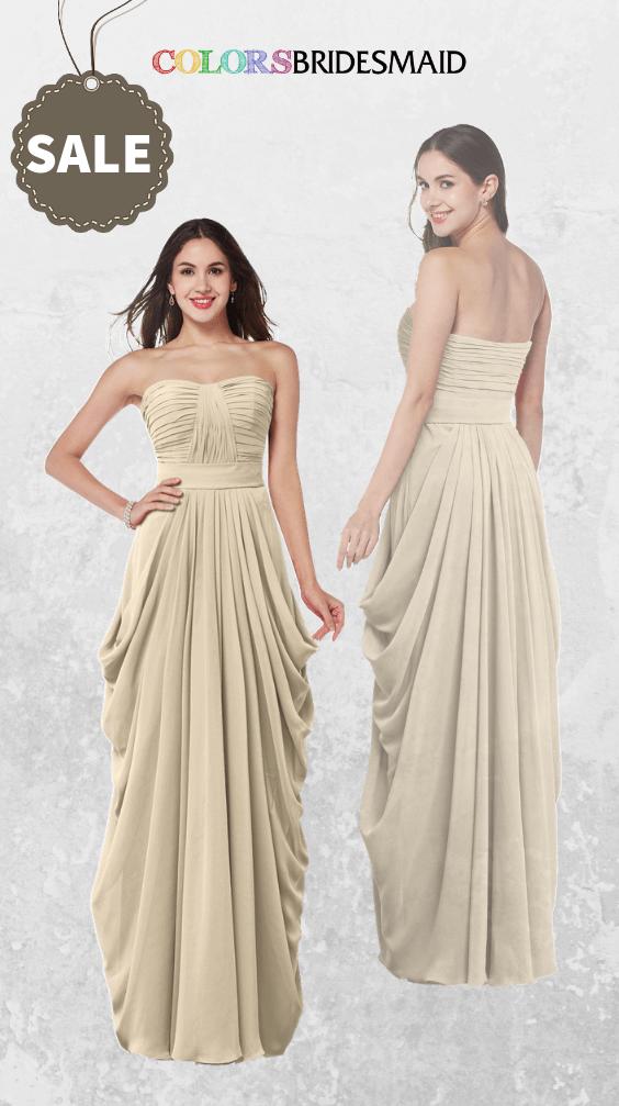 ColsBM Wren Champagne Bridesmaid Dresses