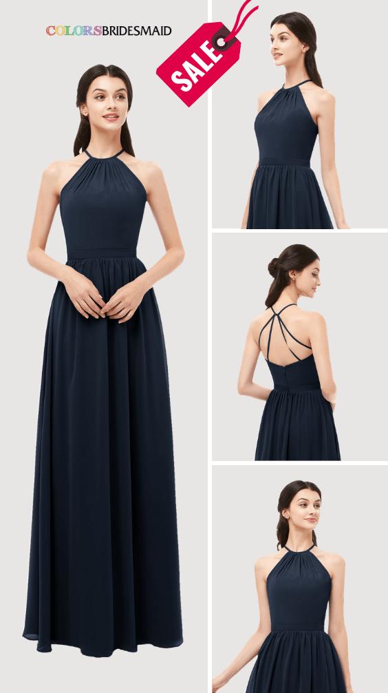 ColsBM Irene Navy Blue Bridesmaid Dresses