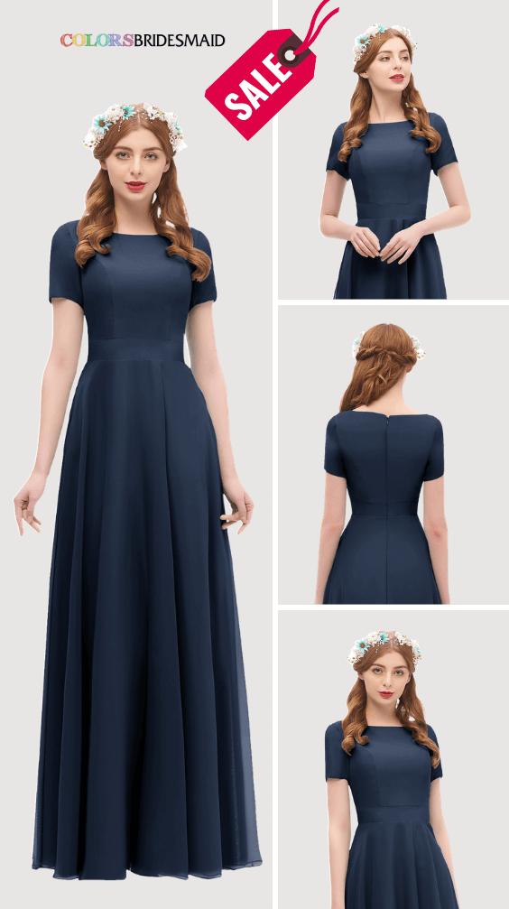 ColsBM Morgan Navy Blue Bridesmaid Dresses