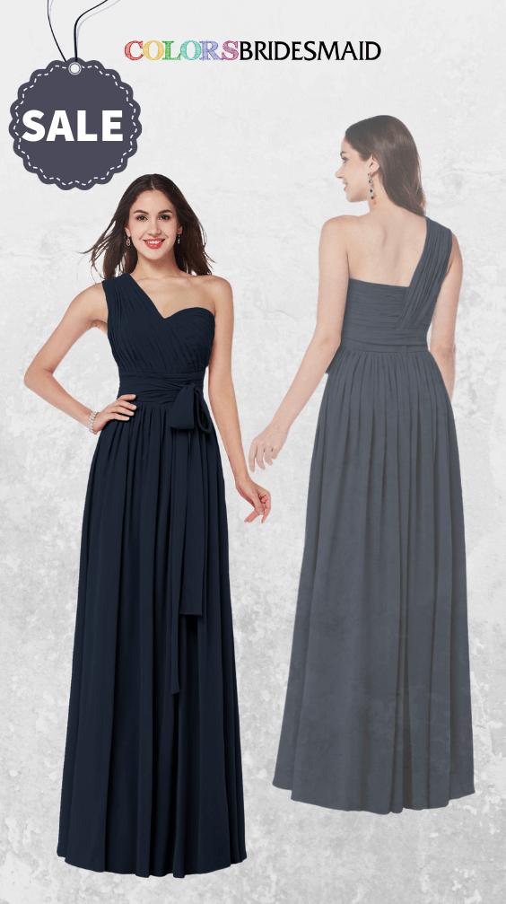 ColsBM Emmeline Navy Blue Bridesmaid Dresses