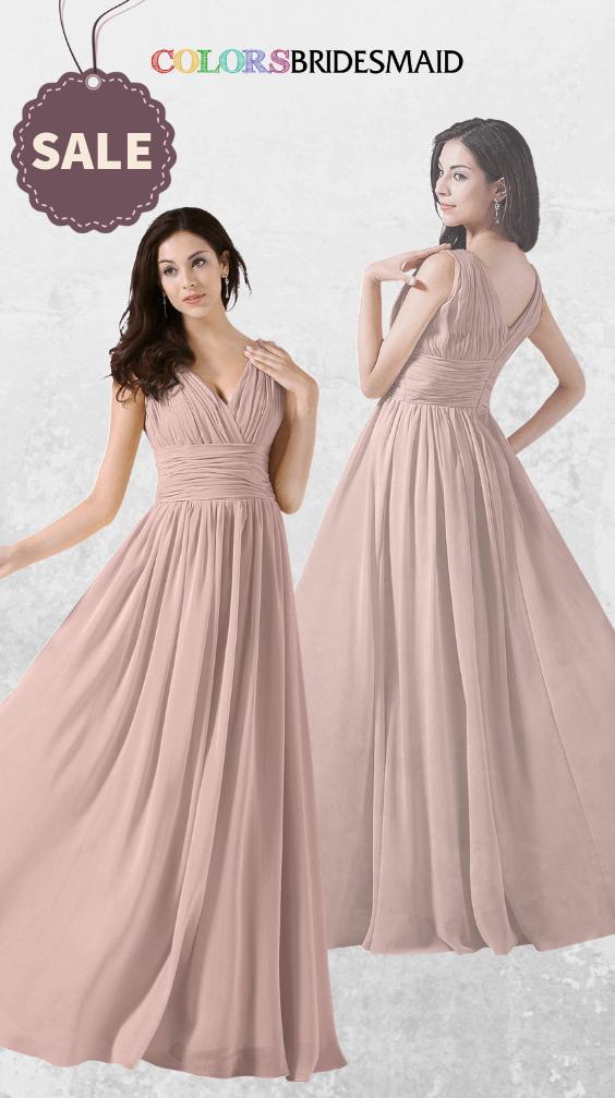ColsBM Alana Dusty Rose Bridesmaid Dresses