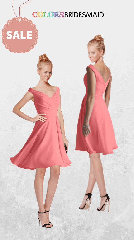 ColsBM Chloe Coral Bridesmaid Dresses