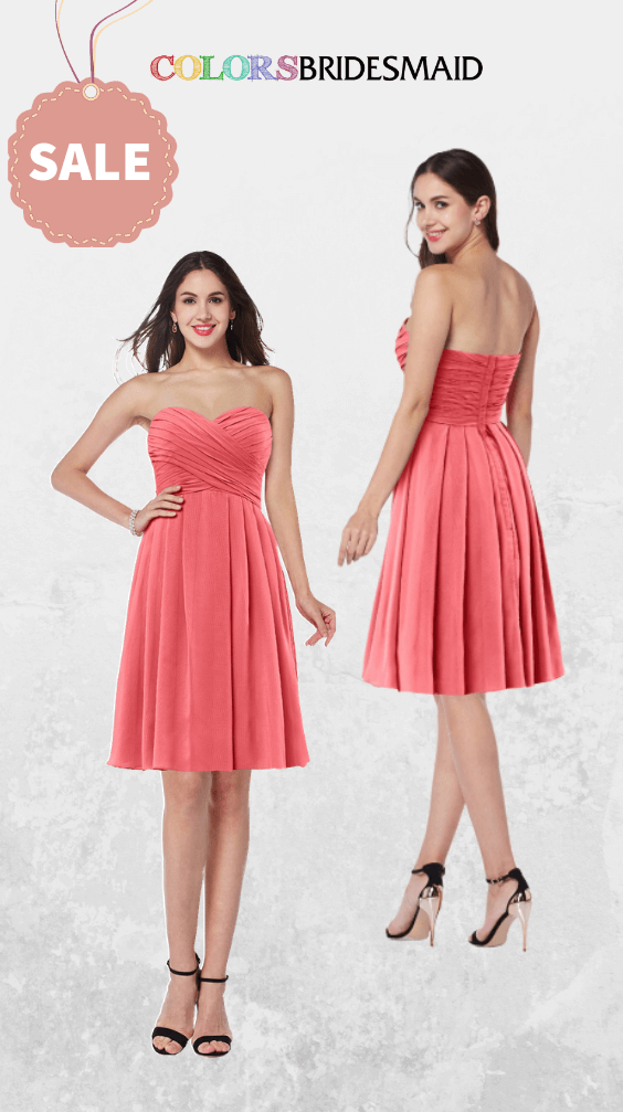 ColsBM Jillian Coral Bridesmaid Dresses