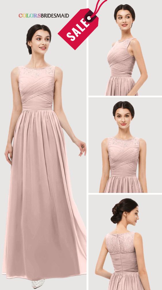 ColsBM Skyler Dusty Rose Bridesmaid Dresses