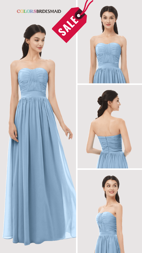 ColsBM Esme Dusty Blue Bridesmaid Dresses