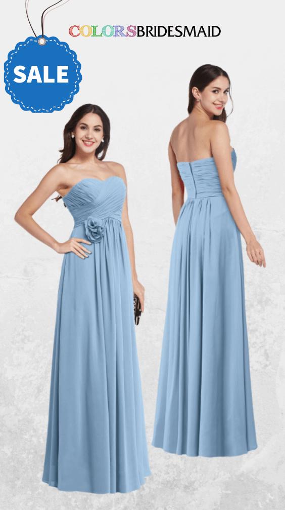 ColsBM Marissa Dusty Blue Bridesmaid Dresses