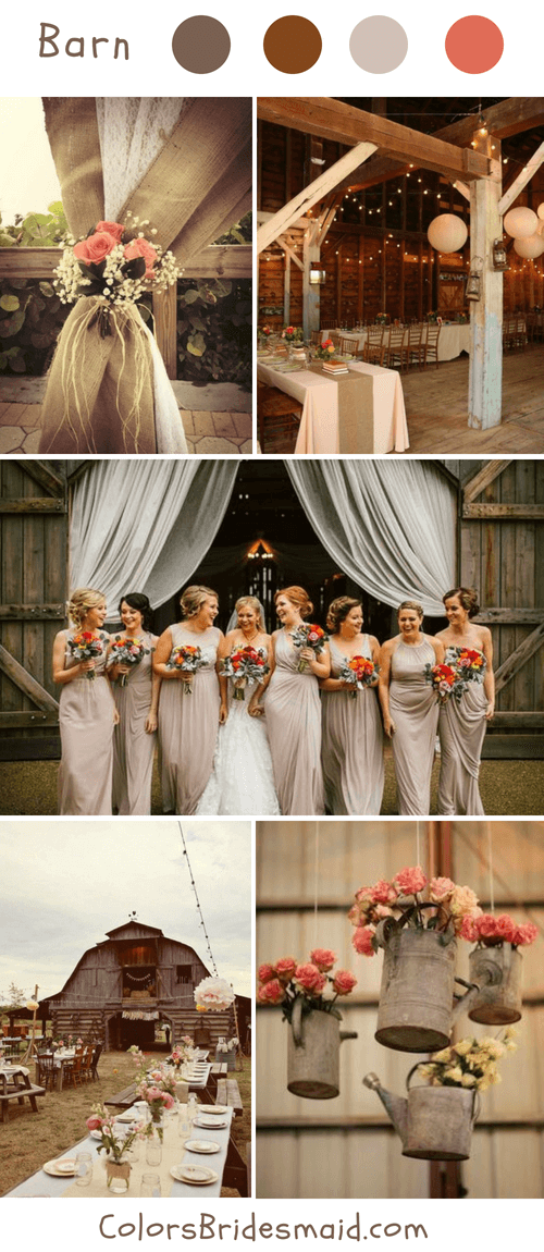 Rustic Barn Fall Wedding Ideas And Colors