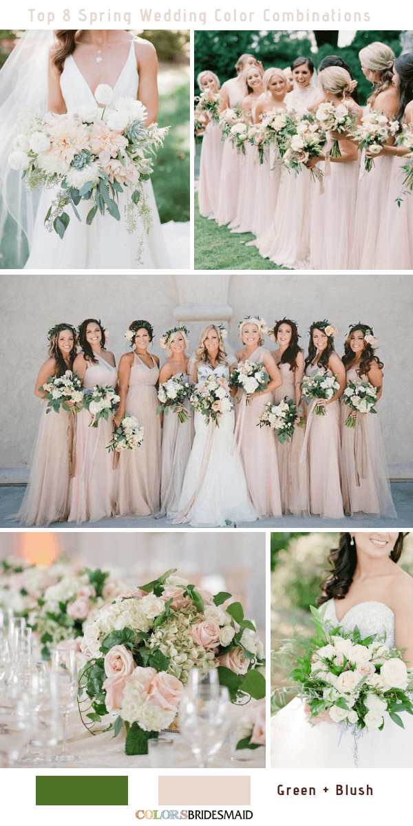 a7025b1f7f Top 8 Spring Wedding Color Palettes for 2019 - ColorsBridesmaid